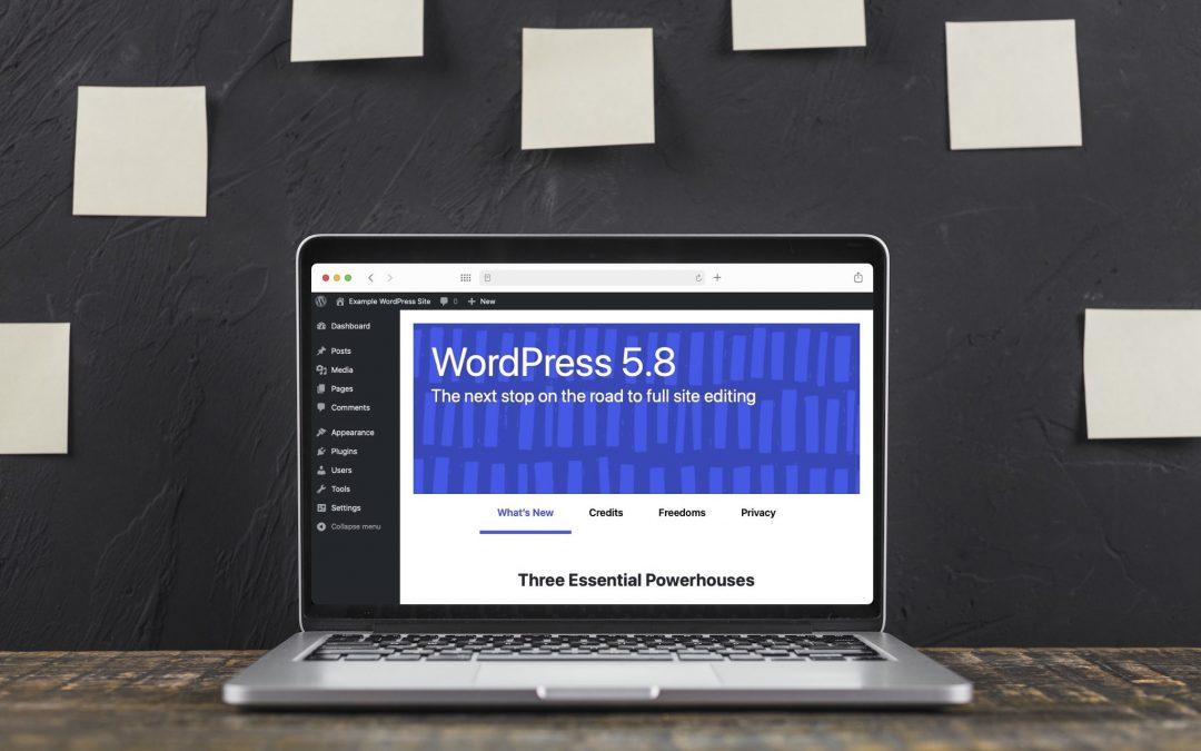 Всички нововъведения в WordPress 5.8 Tatum