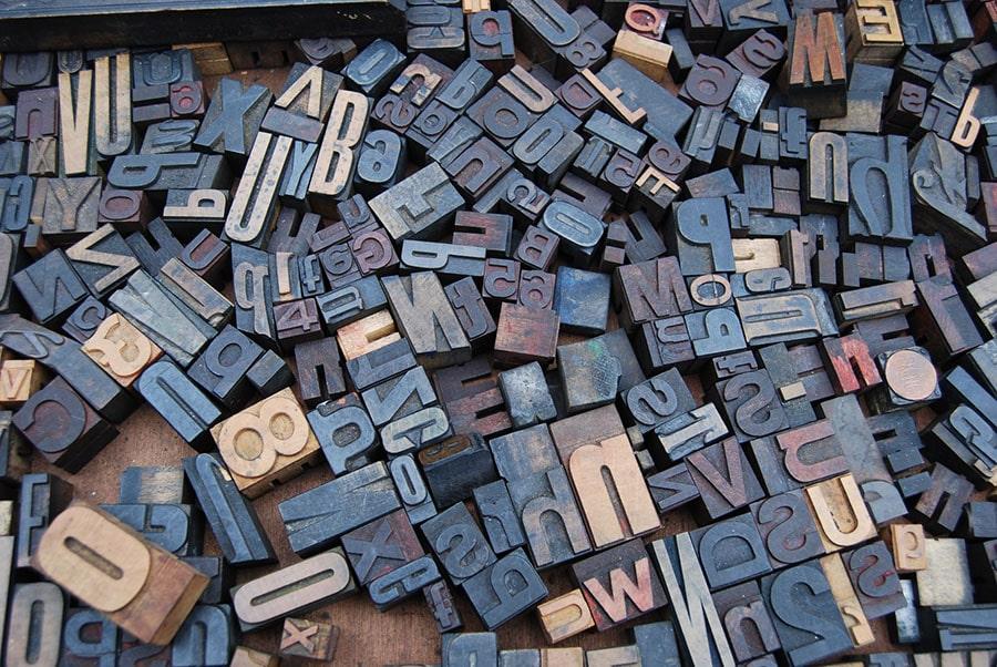 По буквите посрещат… Изберете си шрифт!